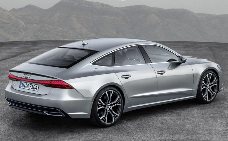 audi toughens up and tricks out the a7 for 2019 american luxury. Black Bedroom Furniture Sets. Home Design Ideas