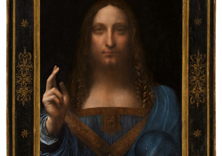 Leonardo da Vinci's 'Salvator Mundi' Soars Past Records with $450.3M Sale