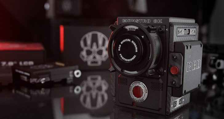 Digital Cinema Pioneers RED Update their Flagship Camera to the $80K Monstro 8K VV