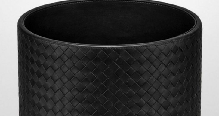 Bottega Veneta's $1K Nappa Leather Waste Basket Is a Great Gift Idea