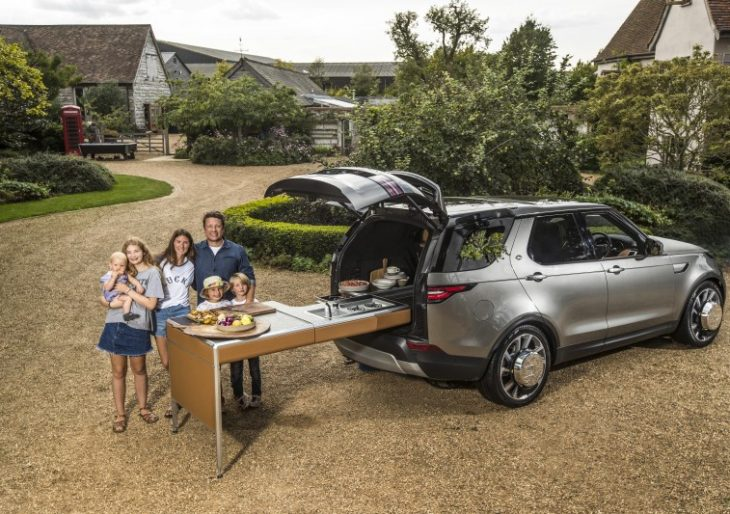 Land Rover Gives Celebrity Chef Jamie Oliver the Ultimate Kitchen on Wheels