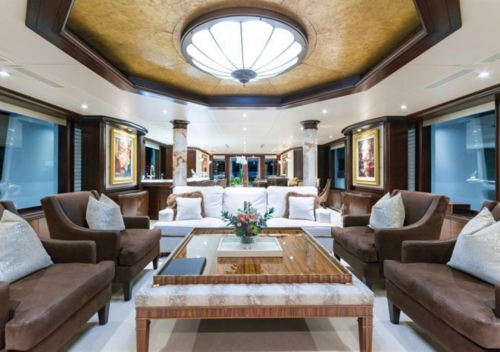 After a $3M Price Reduction, the Elegant 143-Foot 'Starship' Superyacht Is a Steal at $5.95M