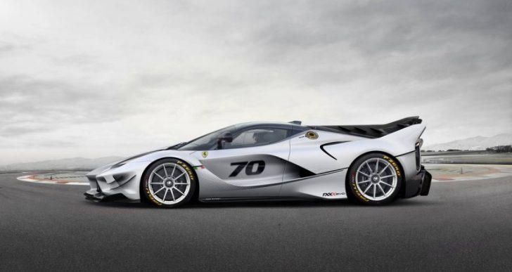 The FXX K Evo Track Car Is Ferrari's Most Extreme Build Ever