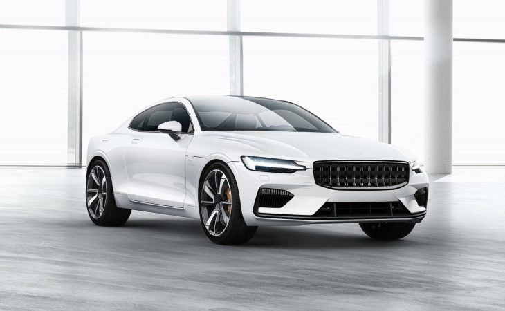Volvo's 600-HP Polestar 1 Is the Latest, and Possibly the Prettiest, Tesla Rival