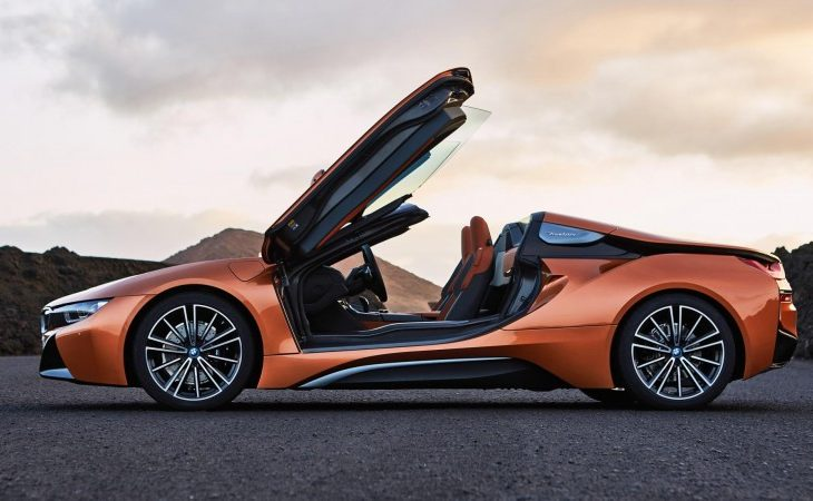 BMW's Highly Anticipated i8 Roadster Has Arrived