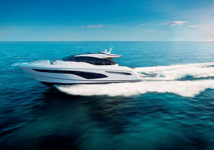 Efficient, Agile, Poised: Princess Yachts Introduces New V Class Models