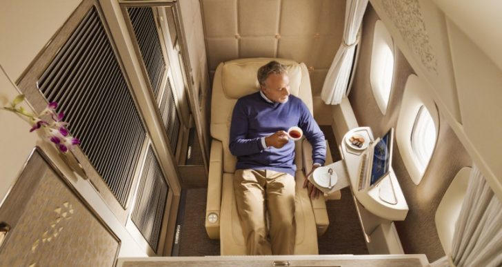 Emirates' 777 Fleet to Get Luxurious New First Class Suites Inspired by the Mercedes-Benz S Class