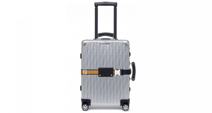 Fendi Teams up with Premium Luggage Maker Rimowa for an Aluminum Suitcase You Won't Soon Forget