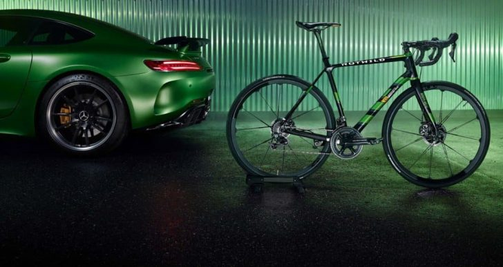 German Bike Maker Rotwild Helps Mercedes-AMG Celebrate 50 Years with a Limited Edition Bike Meant to Complement the GT R