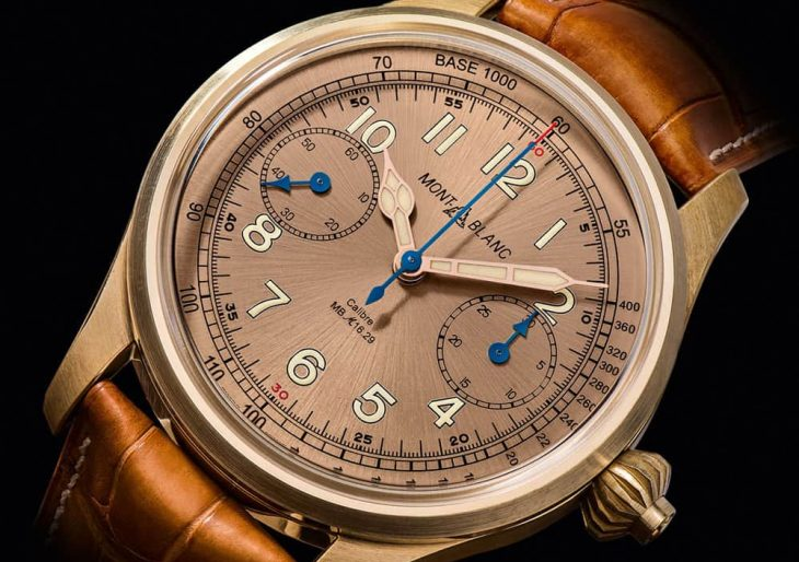 Montblanc's 1858 Chronograph Tachymeter to Sell for $27.5K, Limited to 100 Examples