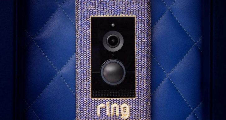 With a $100K Price Tag, Ring's Diamond-Encrusted Doorbell Is the Most Expensive in the World