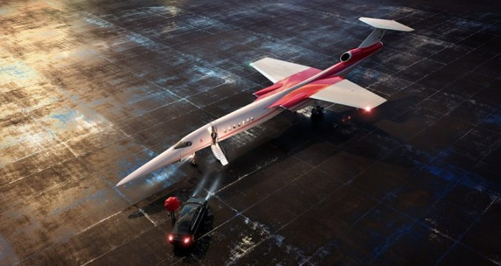 Aerion & Lockheed Martin Look to Revive Supersonic Flight with the First Ever Mach 1 Business Jet