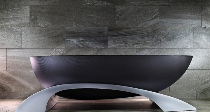 Alvarae's $38K Carbon Fiber Soaking Tub Is a Bold Statement for Any Bathroom