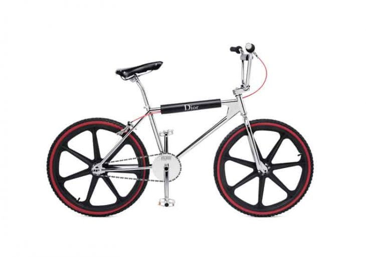Dior Homme Teams up with Bogarde BMX on a Surprisingly Stylish BMX Bike