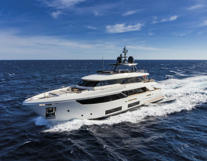 Ferretti Continues Semi-Custom Superyacht Refresh with the Quad-Deck Navetta 33
