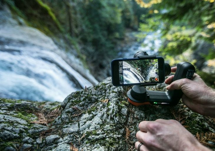 Hollywood Gear Manufacturer Freefly Creates a Software-Enhanced Gimbal for Big Screen-Ready iPhone Movies
