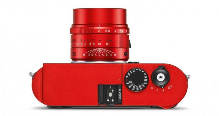 Just 100 Lucky Buyers Will Get to Own Leica's $7K Anodized Red M Typ 262 Camera