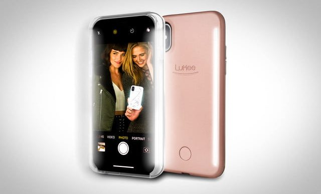 LuMee's Selfie-Lighting iPhone X Cases Allow Pass-Through Wireless Charging