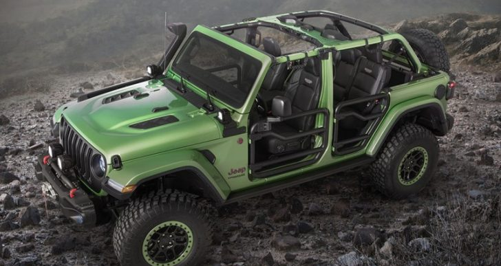 Mopar's Custom Jeep Wrangler 'Rubicon' Will Take You Anywhere You Want to Go