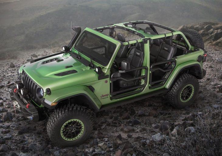 Custom Jeep Rubicon >> Mopar S Custom Jeep Wrangler Rubicon Will Take You