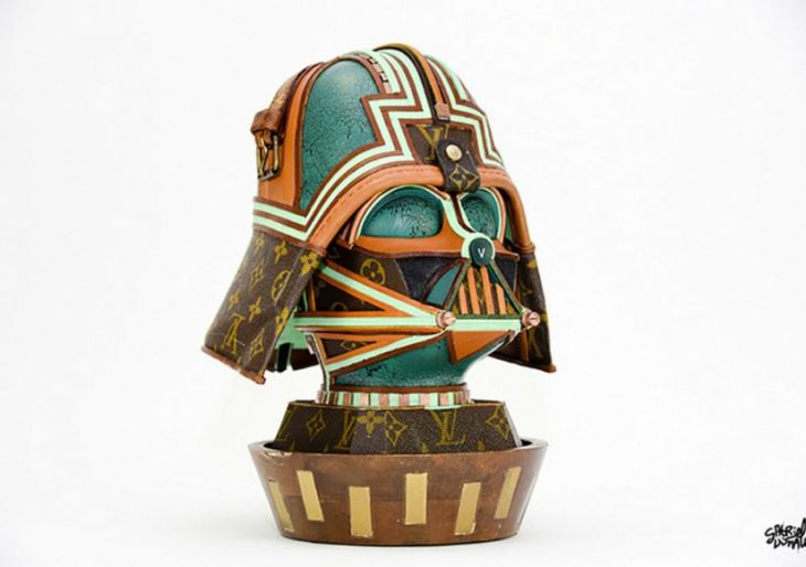 Sculptor Gabriel Dishaw Turns Louis Vuitton Bags into Star Wars Statuary