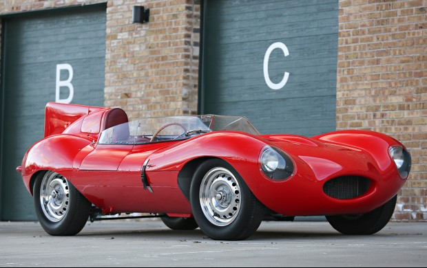 This 1956 Jaguar D-Type with an A-List Race World Pedigree Could Fetch up to $12M at Auction