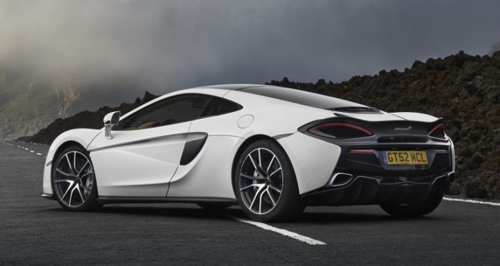 2018 McLaren 570GT Offers Electrochromic Glass Roof