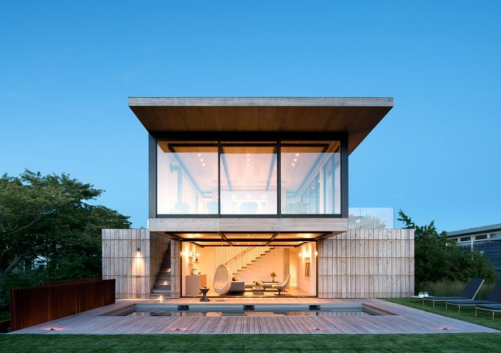 Atlantic Residence in the Hamptons by Bates Masi Architects