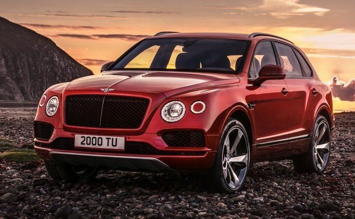 Bentley Introduces Nimbler Bentayga V8 Model