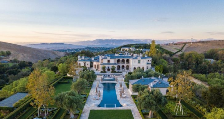 Billionaire Thomas Tull Lists Palatial Thousand Oaks Home with 32 Bathrooms for $85M