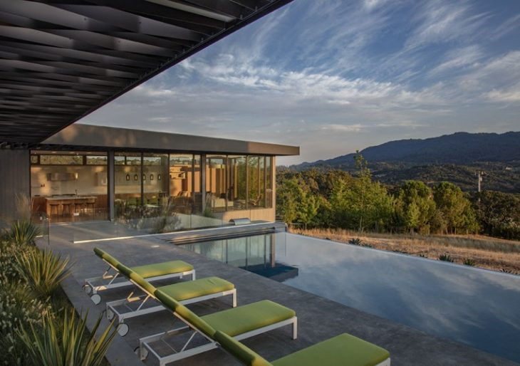 The Lichen House in California by Schwartz and Architecture