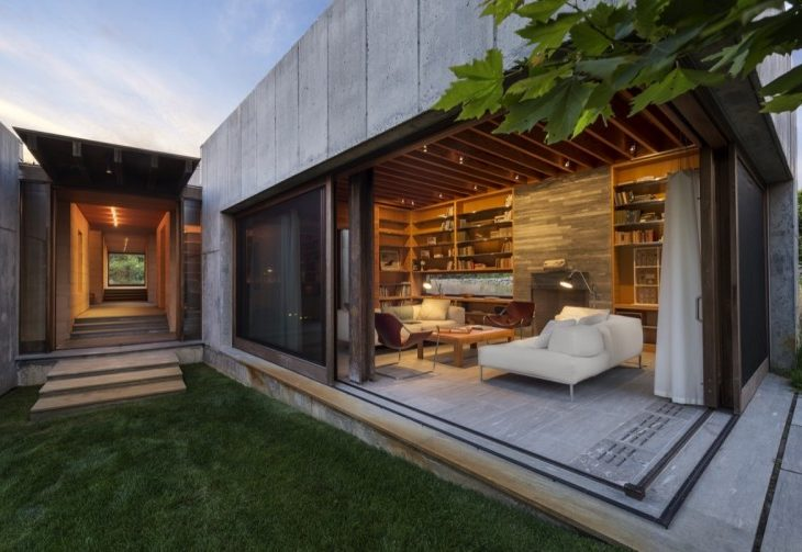 East House in Massachusetts by Peter Rose + Partners