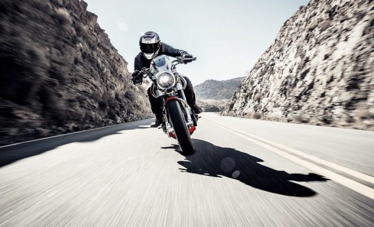 Yes, Keanu Reeves Really Was Surfing on a Motorcycle in That Superbowl Ad