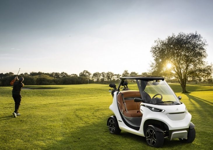 Garia Introduces $73K 'Coolest Golf Car Ever', Inspired by Mercedes-Benz Style