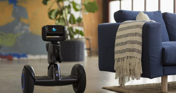 Loomo is an A.I.-Powered Segway That Doubles As a Friendly Robot Companion