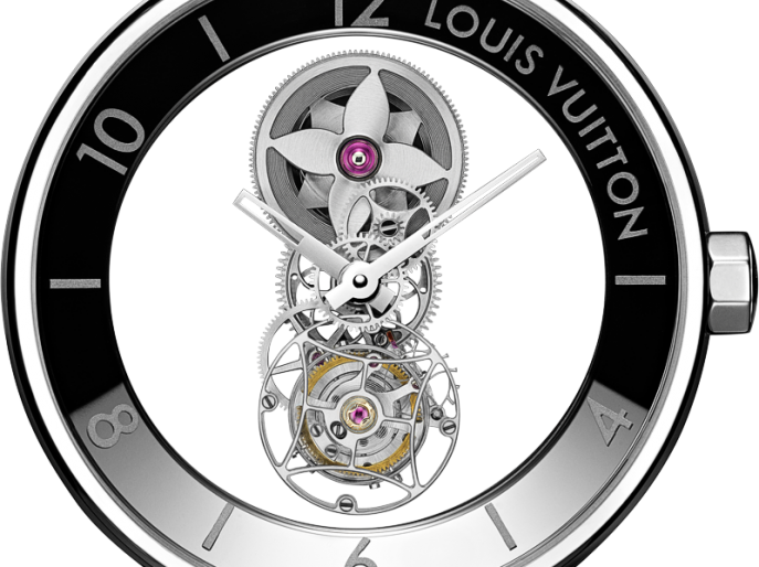 Louis Vuitton Conjures a Little Mystery With the 'Tambour Moon Mystérieuse Flying Tourbillon'