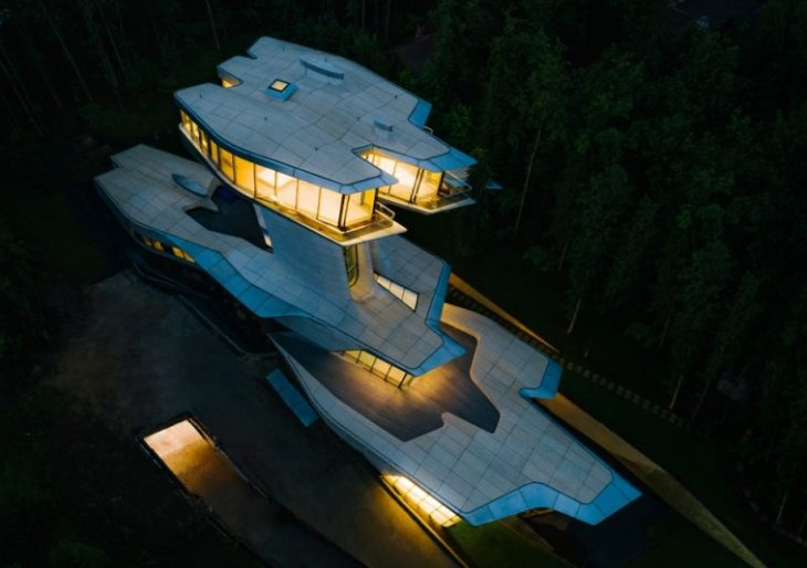 Billionaire Vladislav Doronin Owns the Only Zaha Hadid-Designed House in the World