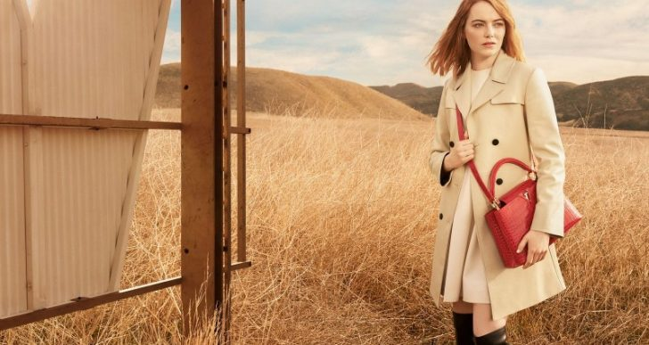 Emma Stone Stars in Louis Vuitton's 'Spirit of Travel' Campaign