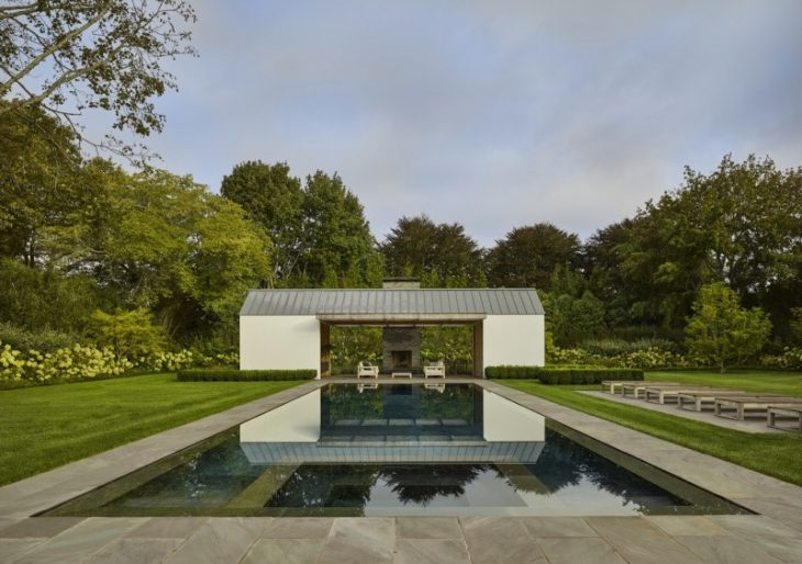 Further Lane Pool House in the Hamptons by Robert Young Architects