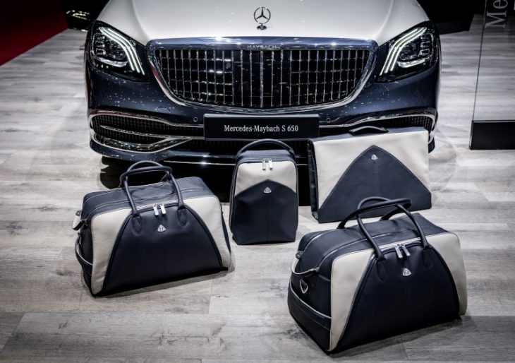 Mercedes-Maybach Introduces Matching Luggage Set