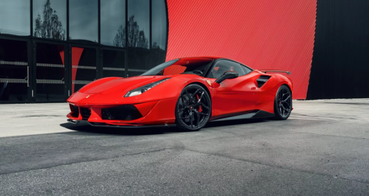 Pogea Racing Gives the Ferrari 488 GTB a Boost to 820 Horsepower