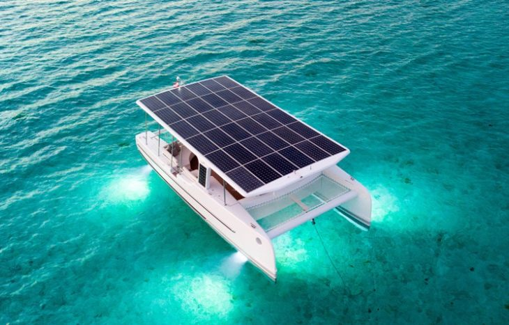 Tesla of the Sea: SoelCat 12 Is a Solar-Powered Electric Catamaran
