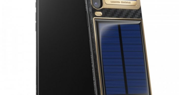 This Russian-Made, $4.9K iPhone X 'Tesla' Is Solar-Powered
