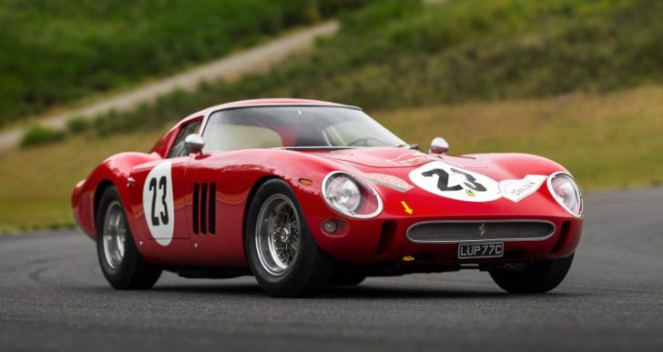 1962 Ferrari 250 GTO Expected to Fetch Over $45M at Auction