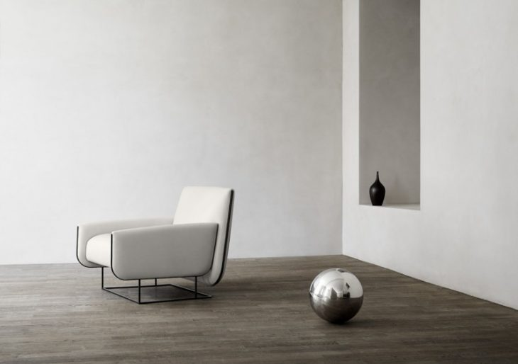 Damian Williamson's Ovo Chair for Erik Jørgensen Cuts a Refined Figure