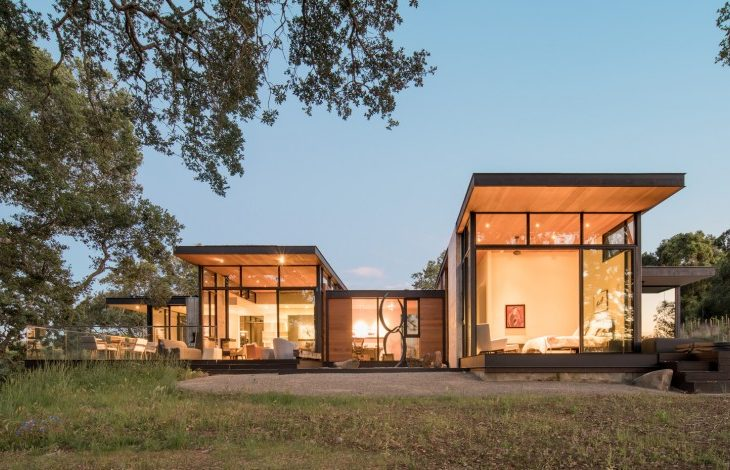 Forty-One Oaks Residence in California by Field Architecture