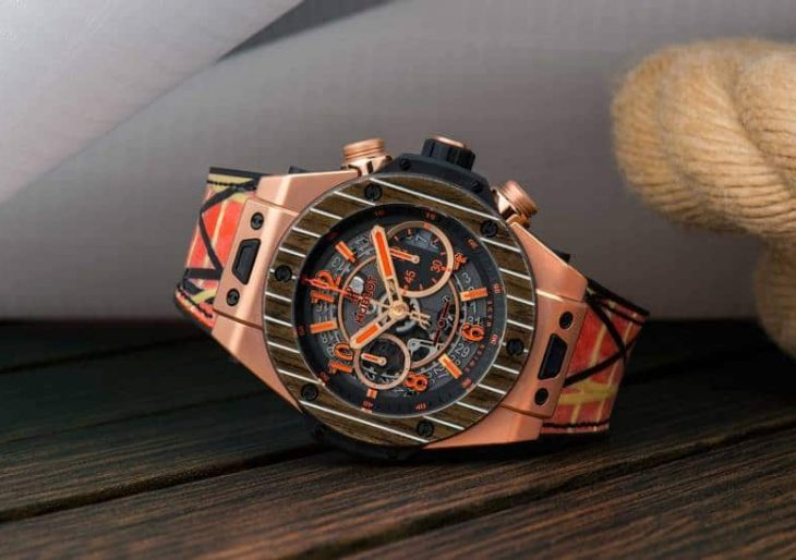 Hublot Unico Teak Italia Independent Channels Yachting Sensibilities