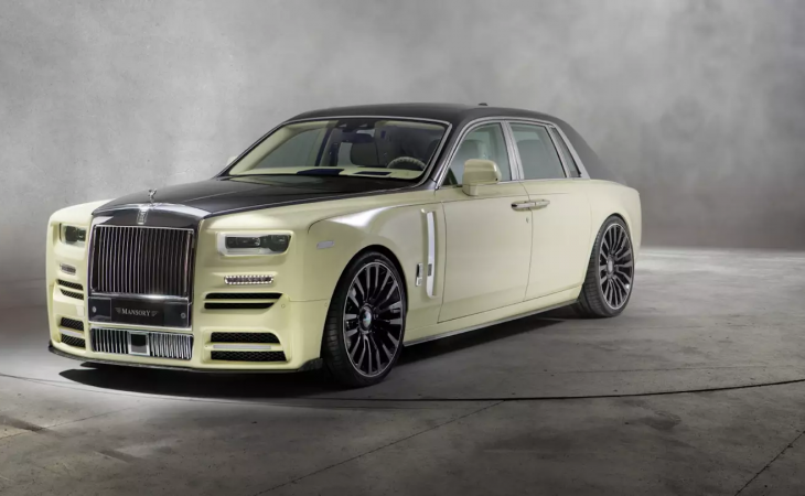 Mansory Applies Its Unmistakable Flair to the Rolls-Royce Phantom VIII