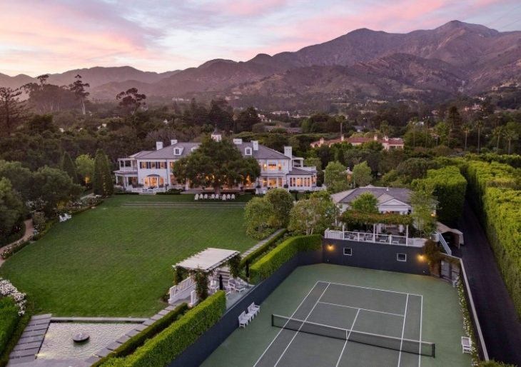 Rob Lowe Lists Potently Traditional Montecito Home for $47M