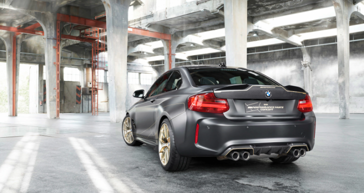 BMW Shows Off M Performance Parts With Aggressive M2 Concept